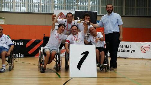 Imagen del Campeonato de Boccia de España que se celebró en Mataró en 2015. Foto: Ayuntamiento