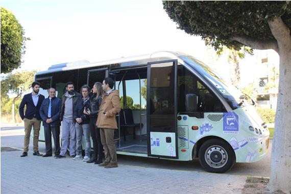 Paterna pone en marcha el nuevo autob s que une lloma - El tiempo en paterna valencia ...